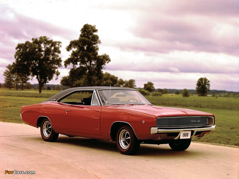 Dodge Charger 1968 wallpapers (800 x 600)