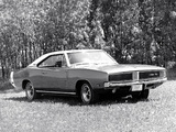 Dodge Charger R/T (XS29) 1969 wallpapers