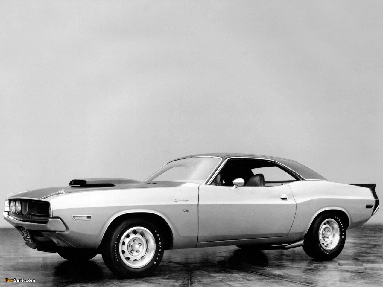 Dodge Challenger T/A Prototype 1970 images (1280 x 960)