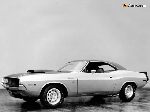 Dodge Challenger T/A Prototype 1970 images (640 x 480)
