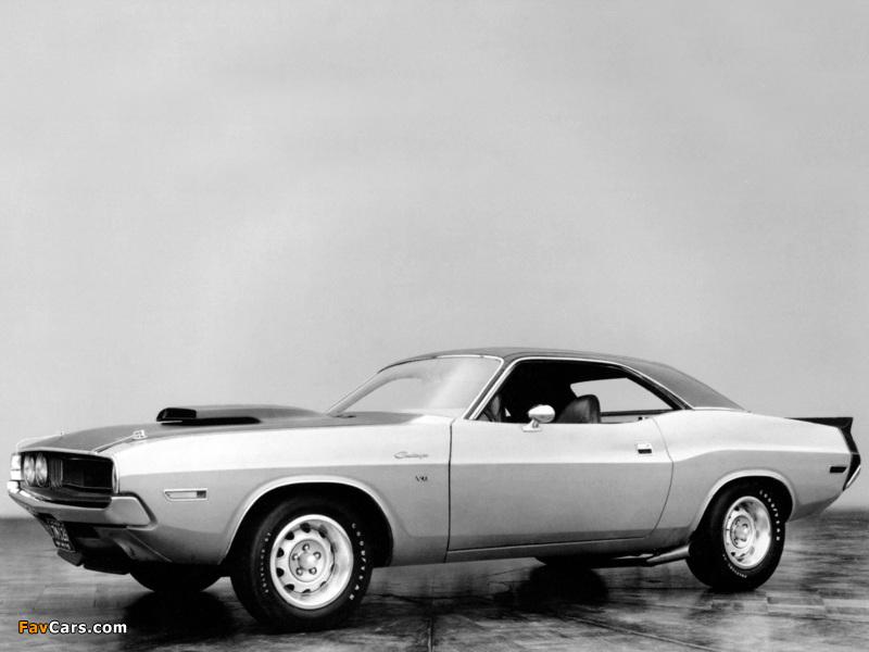 Dodge Challenger T/A Prototype 1970 images (800 x 600)