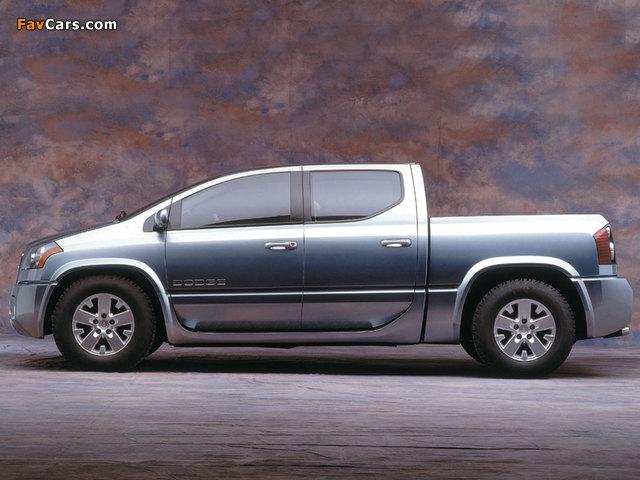 Dodge MaxxCab Concept 2000 images (640 x 480)