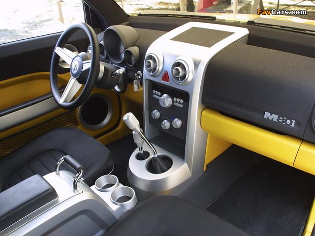 Dodge M80n Concept 2002 pictures (640 x 480)