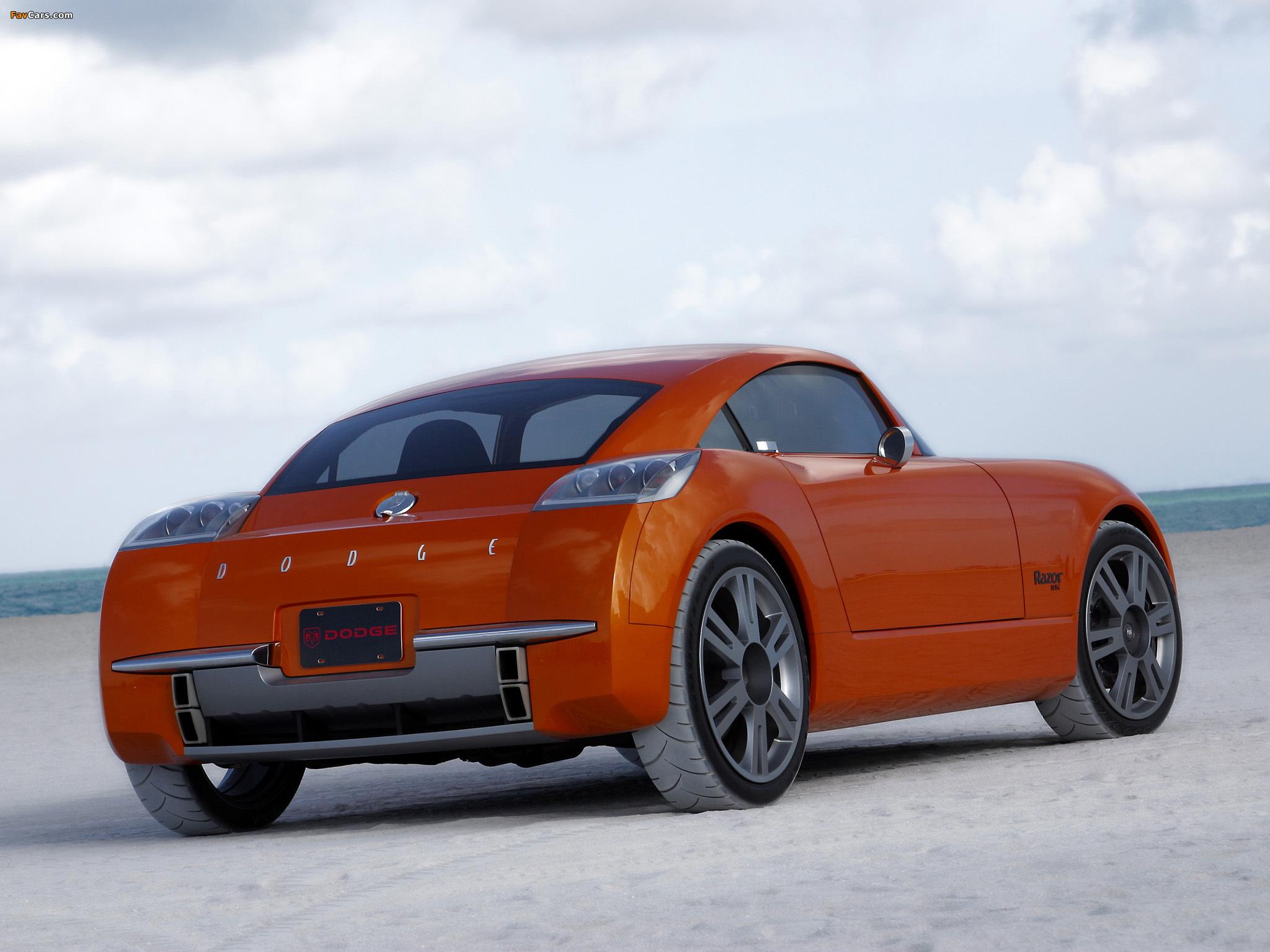 Dodge Razor Concept 2002 pictures (2048 x 1536)