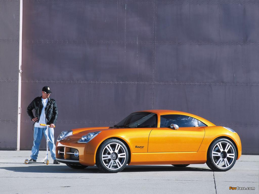 Dodge Razor Concept 2002 wallpapers (1024 x 768)