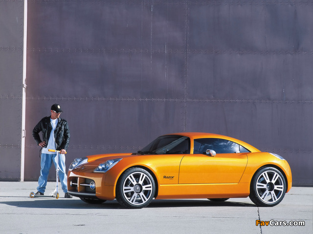 Dodge Razor Concept 2002 wallpapers (640 x 480)