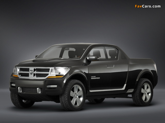 Dodge Rampage Concept 2006 wallpapers (640 x 480)