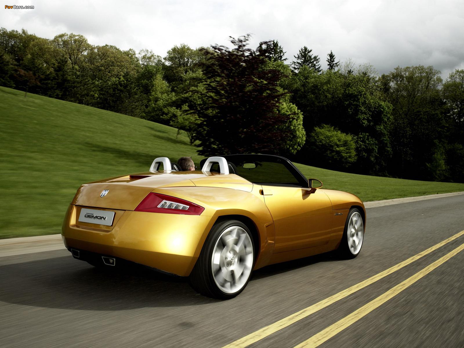 Dodge Demon Roadster Concept 2007 pictures (1600 x 1200)