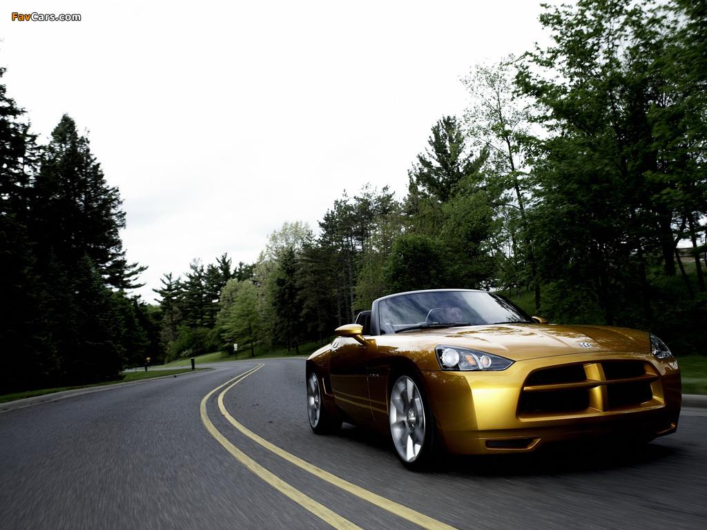 Dodge Demon Roadster Concept 2007 pictures (1024 x 768)