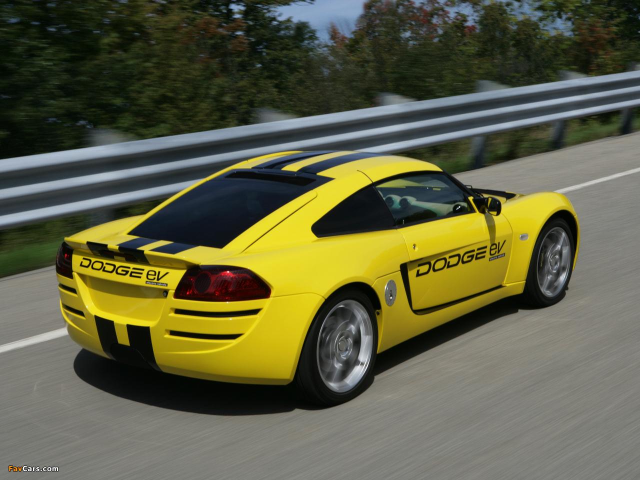 Dodge EV Concept 2008 pictures (1280 x 960)
