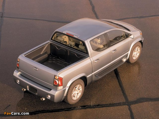 Photos of Dodge MaxxCab Concept 2000 (640 x 480)