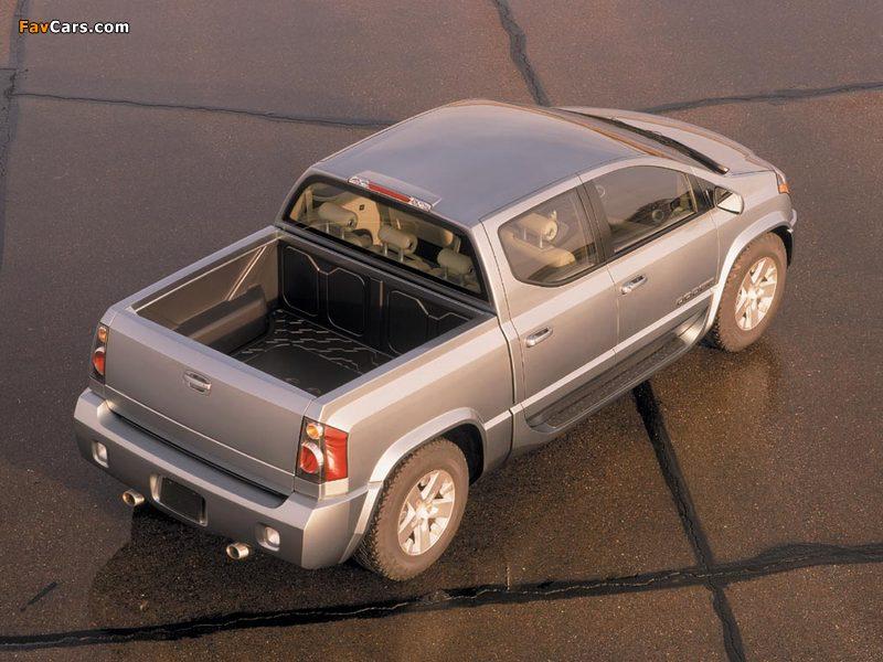 Photos of Dodge MaxxCab Concept 2000 (800 x 600)