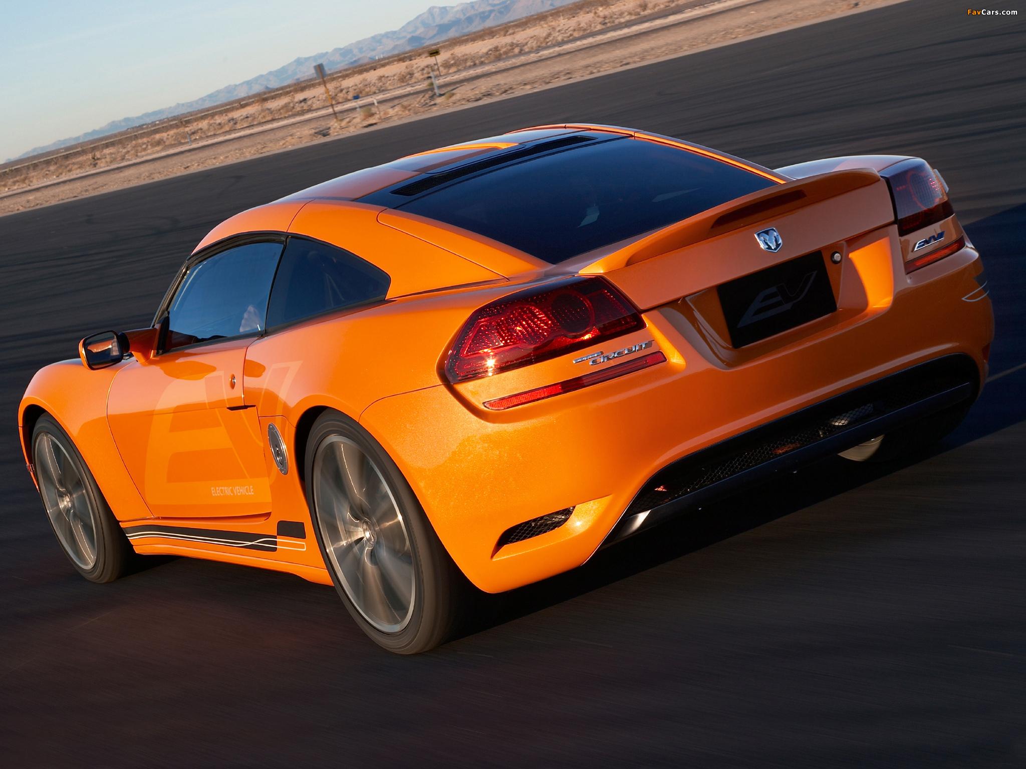 Photos of Dodge Circuit EV Concept 2009 (2048 x 1536)