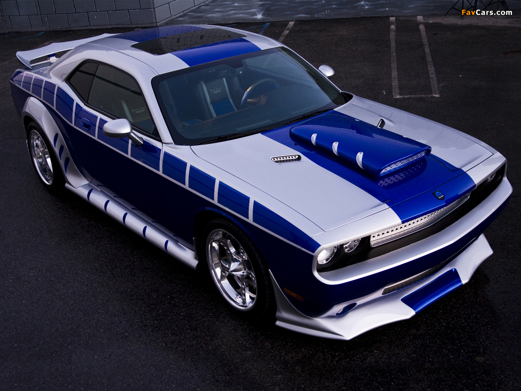 Pictures of Dodge Challenger by Mopar and Rich Evans SEMA Concept 2010 (1024 x 768)