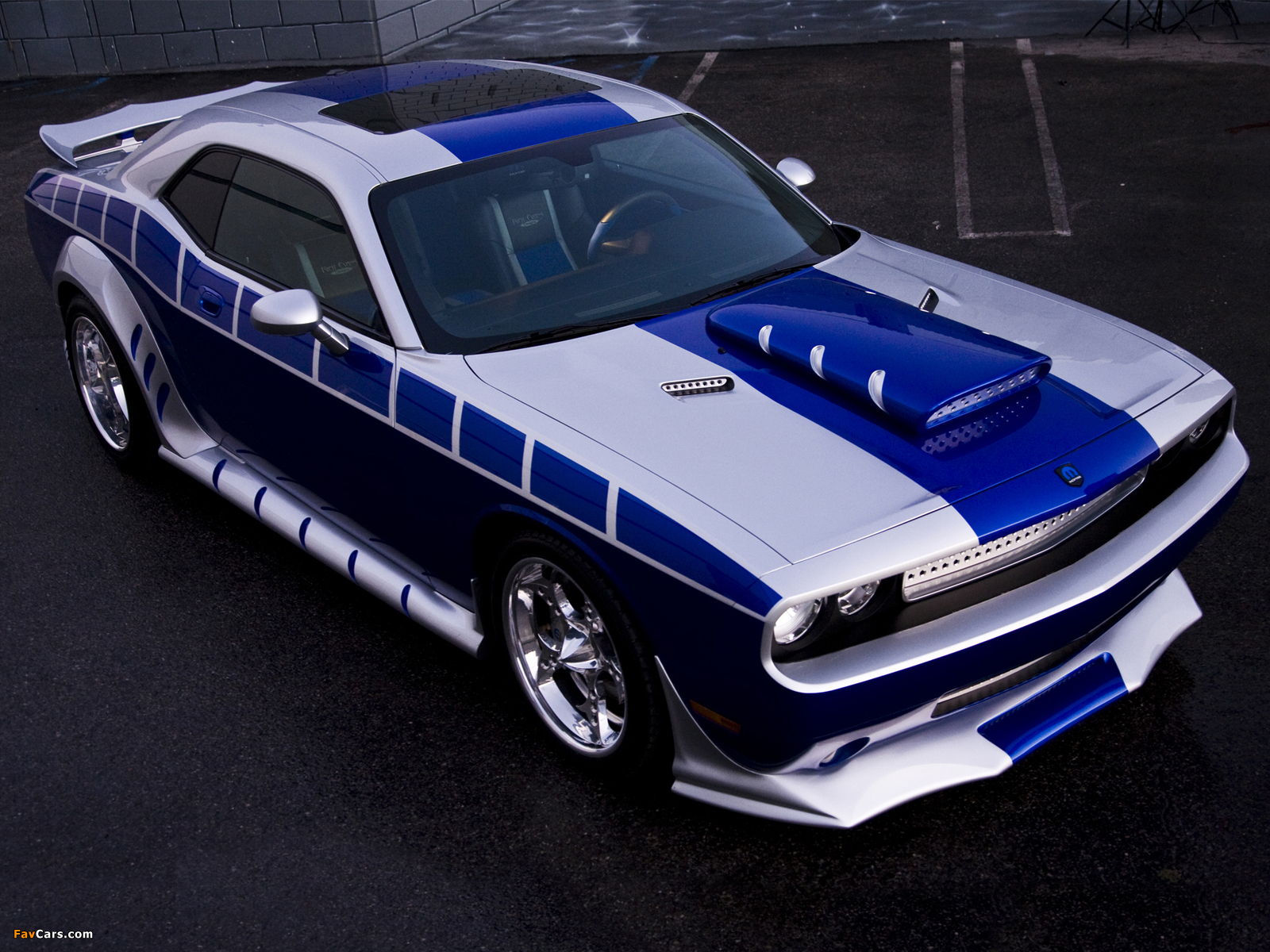 Pictures of Dodge Challenger by Mopar and Rich Evans SEMA Concept 2010 (1600 x 1200)