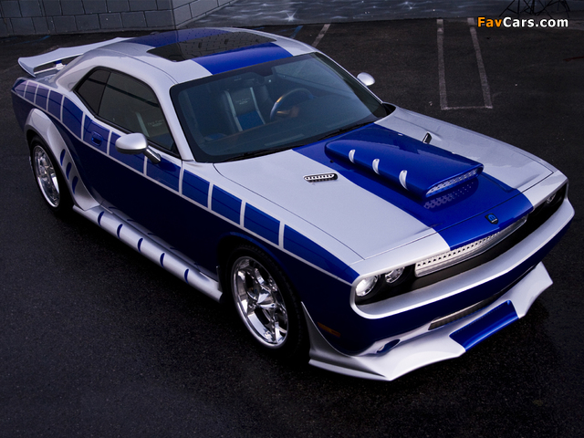 Pictures of Dodge Challenger by Mopar and Rich Evans SEMA Concept 2010 (640 x 480)