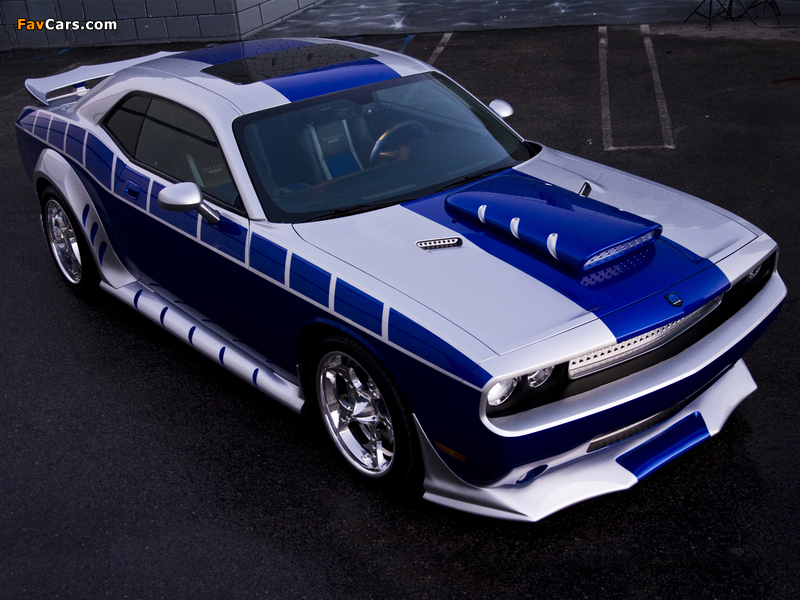 Pictures of Dodge Challenger by Mopar and Rich Evans SEMA Concept 2010 (800 x 600)