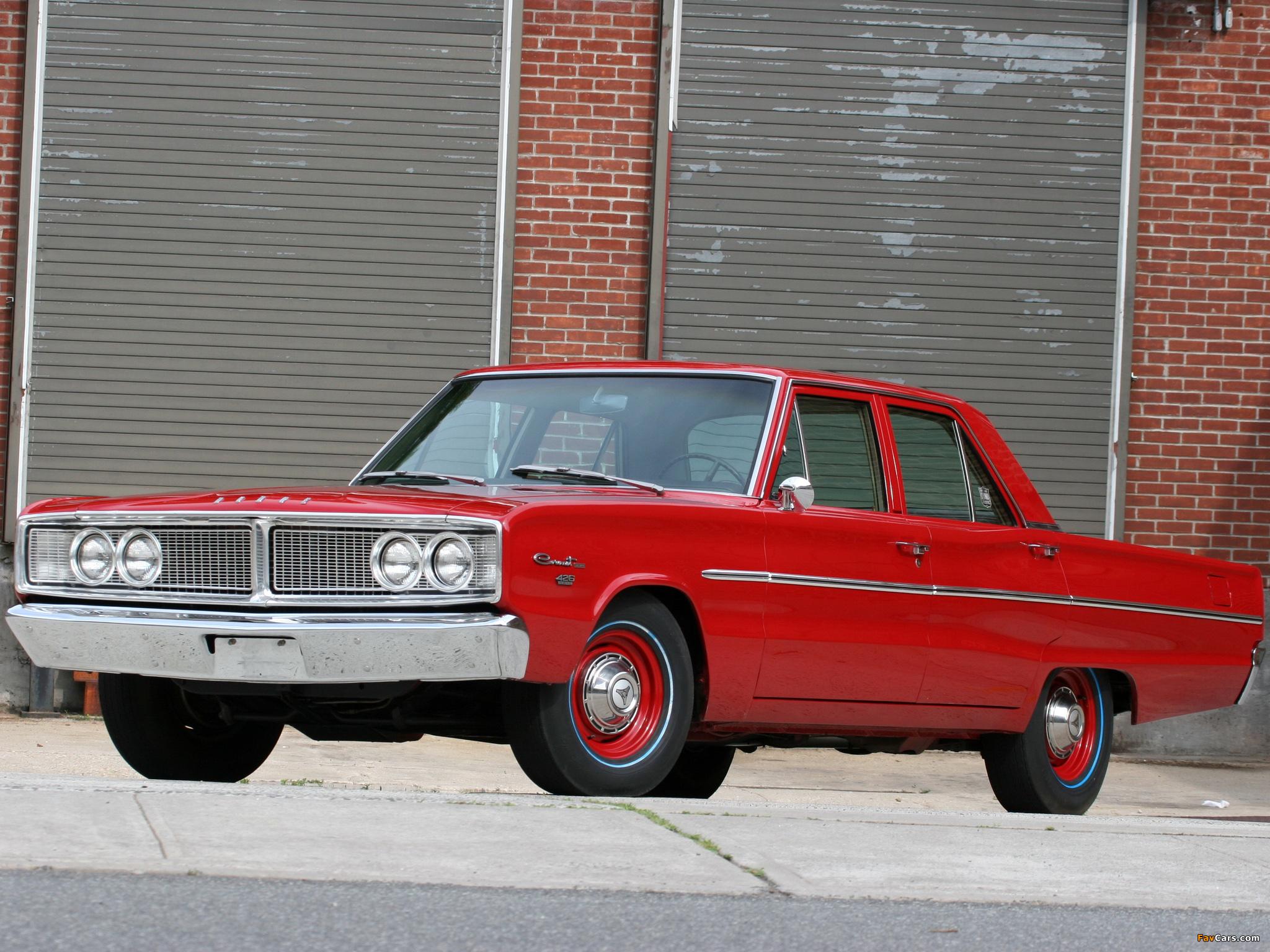 Dodge Coronet Deluxe 426 Hemi 4-door Sedan 1966 photos (2048 x 1536)