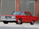 Dodge Coronet Deluxe 426 Hemi 4-door Sedan 1966 photos