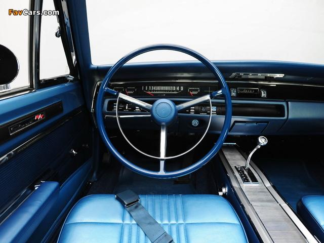 Dodge Coronet R/T Hemi Convertible (WS27) 1968 wallpapers (640 x 480)