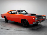 Dodge Coronet Super Bee 440 Six Pack Coupe (WM21) 1969 wallpapers