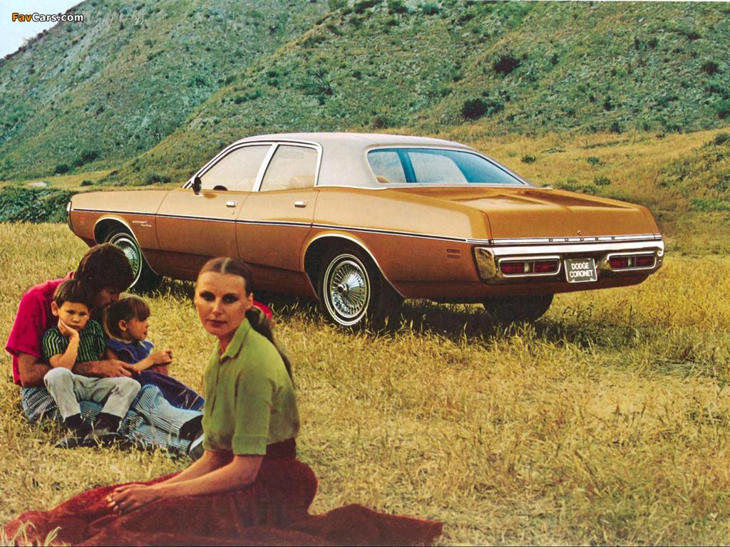 Photos of Dodge Coronet 4-door Sedan 1971 (1024 x 768)