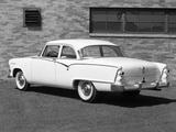 Dodge Coronet 2-door Sedan (D56) 1955 wallpapers