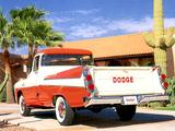 Dodge D-100 Sweptside Pickup 1957 images