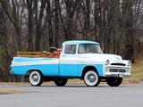 Dodge D-100 Sweptside Pickup 1957 wallpapers