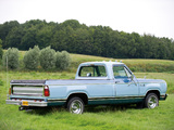 Dodge D150 Adventurer SE 1977 pictures