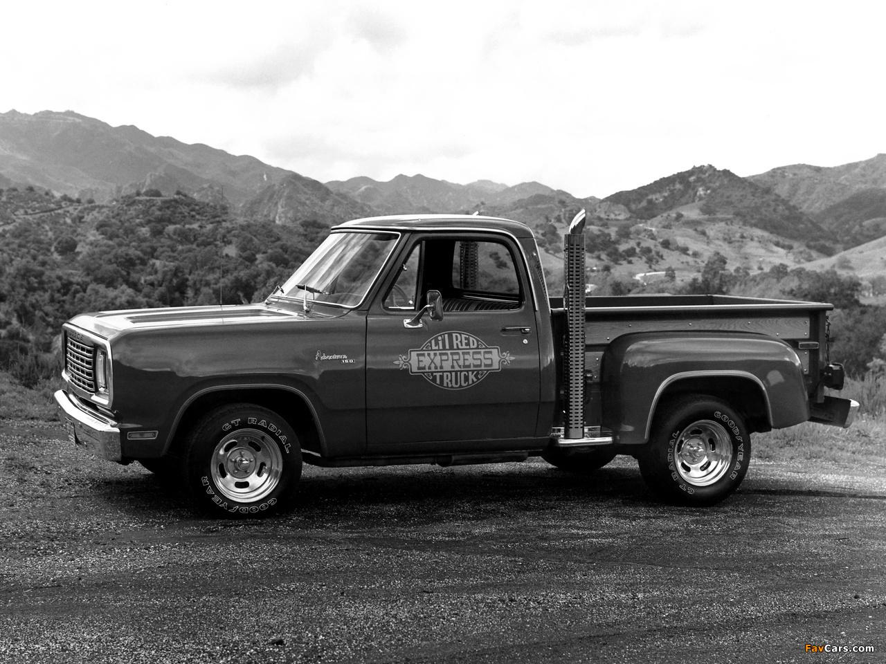 Dodge Adventurer Lil Red Express Truck 1978–79 photos (1280 x 960)