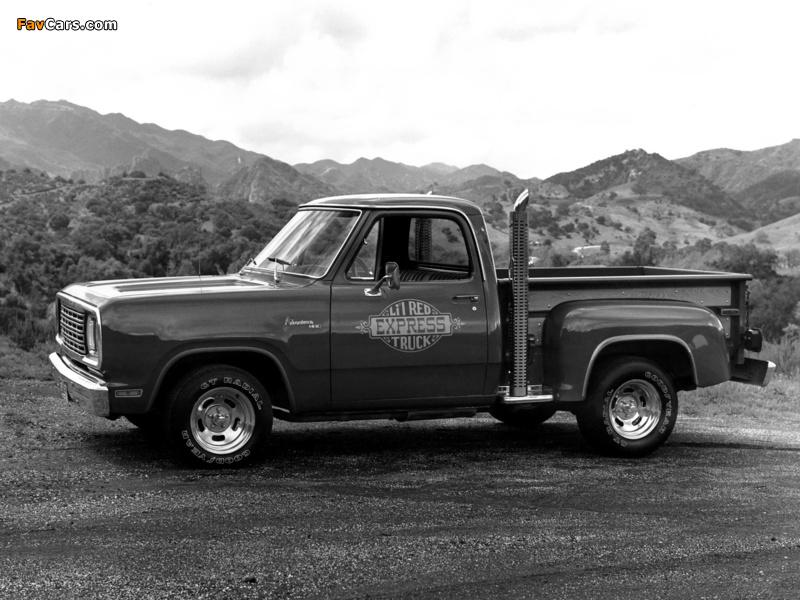 Dodge Adventurer Lil Red Express Truck 1978–79 photos (800 x 600)