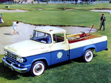 Images of Dodge D100 Sweptline Pickup 1959