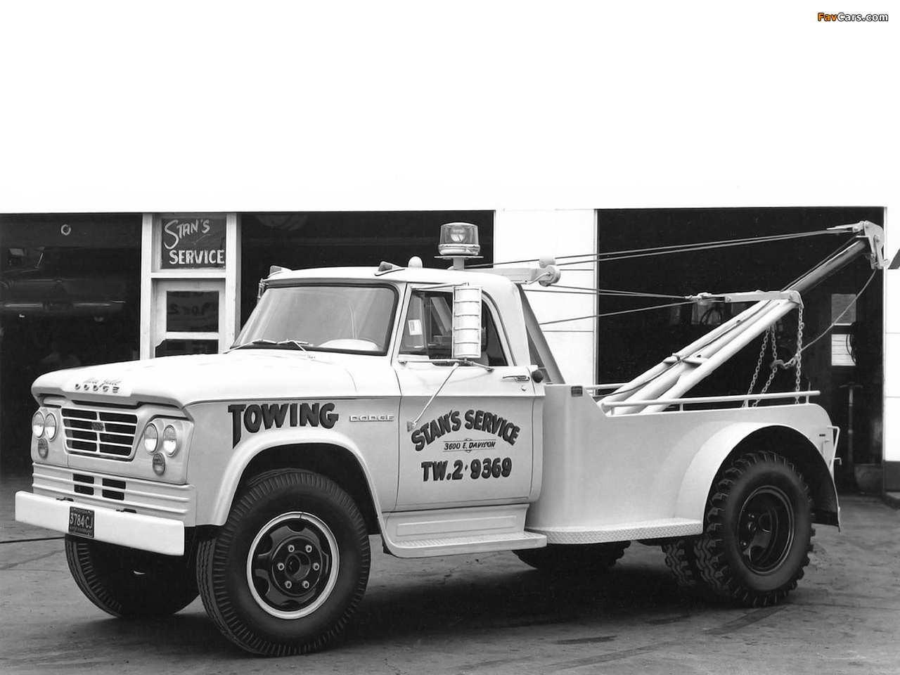 Images of Dodge D500 Tow Truck 1964 (1280 x 960)