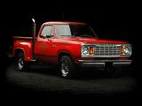 Images of Dodge Adventurer Lil Red Express Truck 1978–79