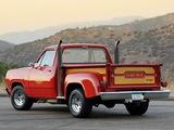 Photos of Dodge Adventurer Lil Red Express Truck 1978–79