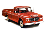 Dodge D100 Sweptline Pickup 1962 wallpapers