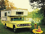 Dodge D100 Adventurer Winnebago Camper 1969 wallpapers