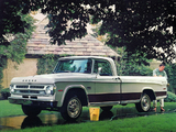 Dodge D100 Adventurer 1971 wallpapers