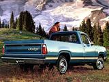 Dodge D100 Custom Special Pickup 1975 wallpapers