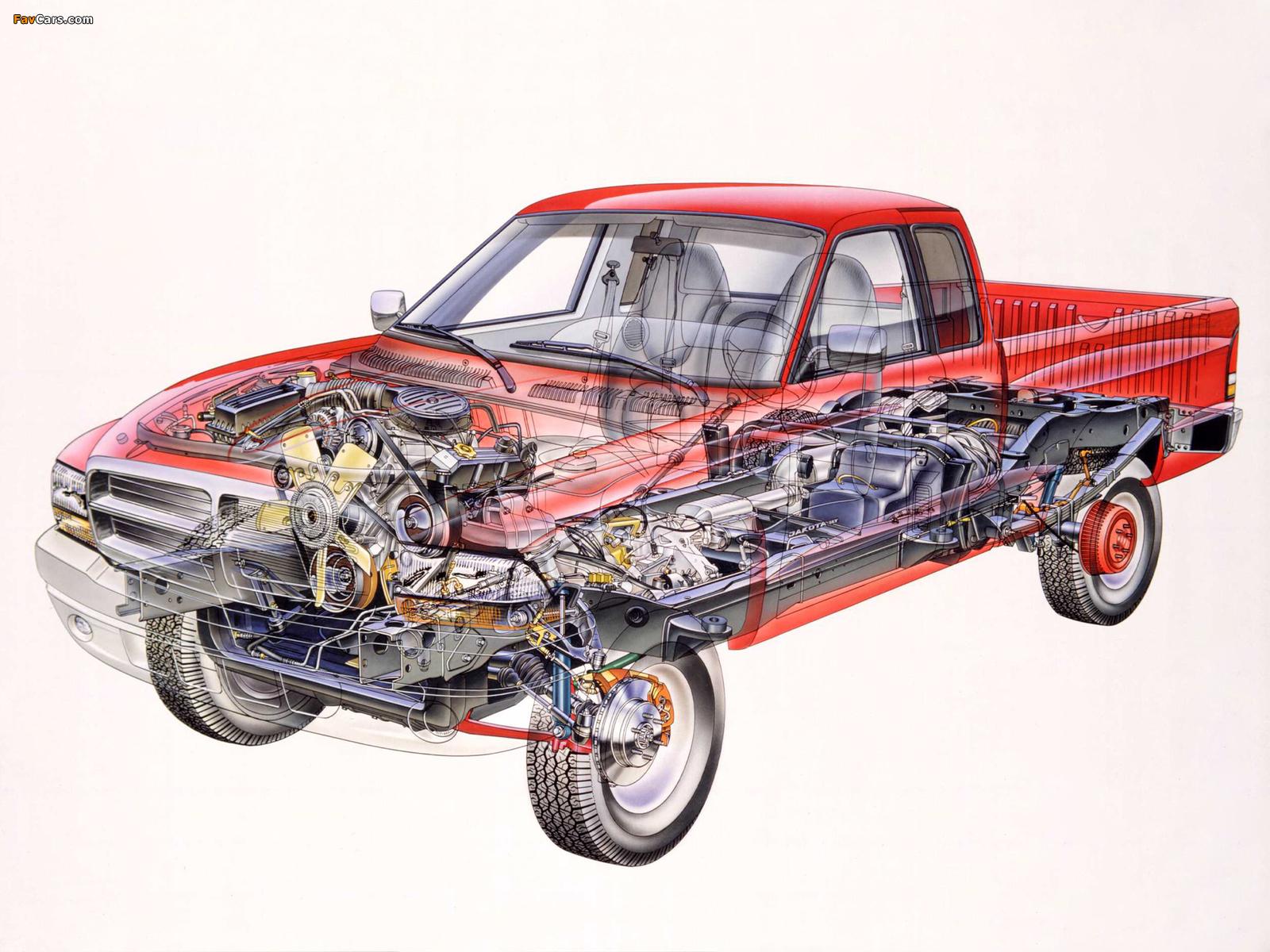 Dodge Dakota Club Cab 1997–2004 photos (1600 x 1200)