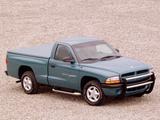 Dodge Dakota Sport Regular Cab 1997–2004 photos