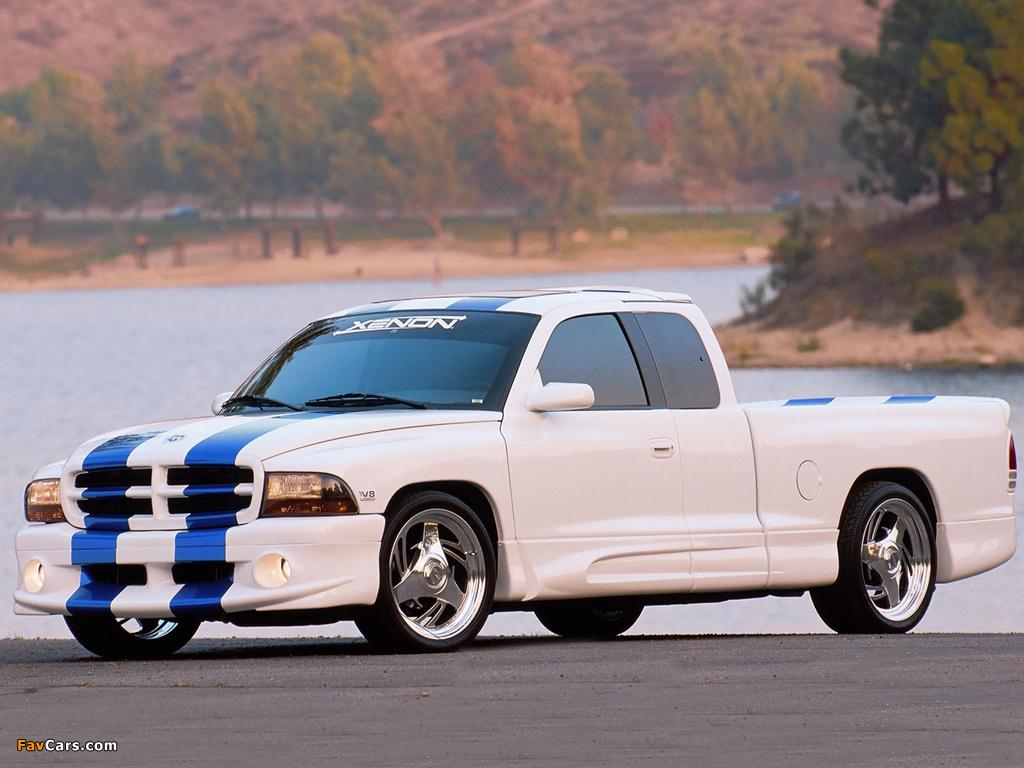Xenon Dodge Dakota 1997–2004 pictures (1024 x 768)