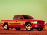 Dodge Dakota R/T Club Cab 1998–2004 photos