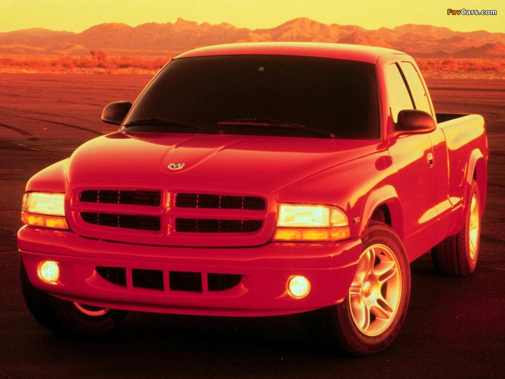 Dodge Dakota R/T Club Cab 1998–2004 pictures (1024 x 768)