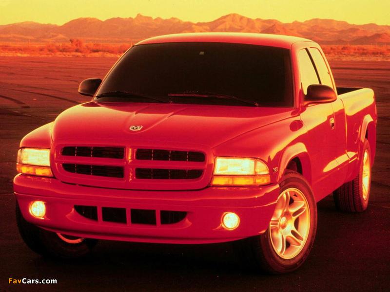 Dodge Dakota R/T Club Cab 1998–2004 pictures (800 x 600)