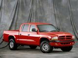 Dodge Dakota Sport Quad Cab 2000–04 images