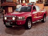 Dodge Dakota Quad Cab Fire Rescue Project Vehicle 2000 photos