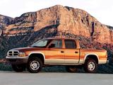 Dodge Dakota Quad Cab 2000–04 photos