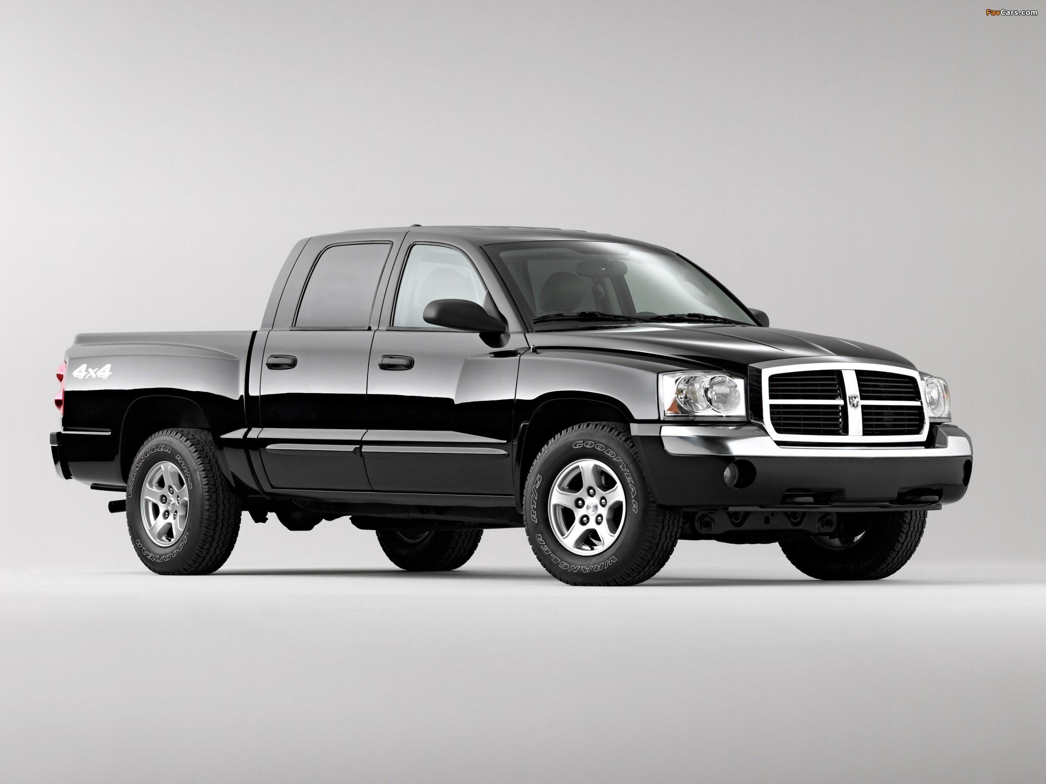 Dodge Dakota Laramie Quad Cab 2004–07 images (2048 x 1536)